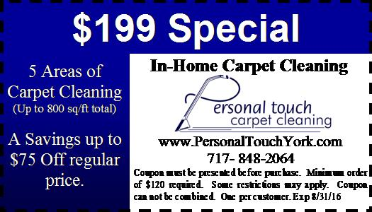 $199 carpet cleaning special york pa