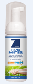 Kid Safe Hand Sanitizer - Alcohol Free Image